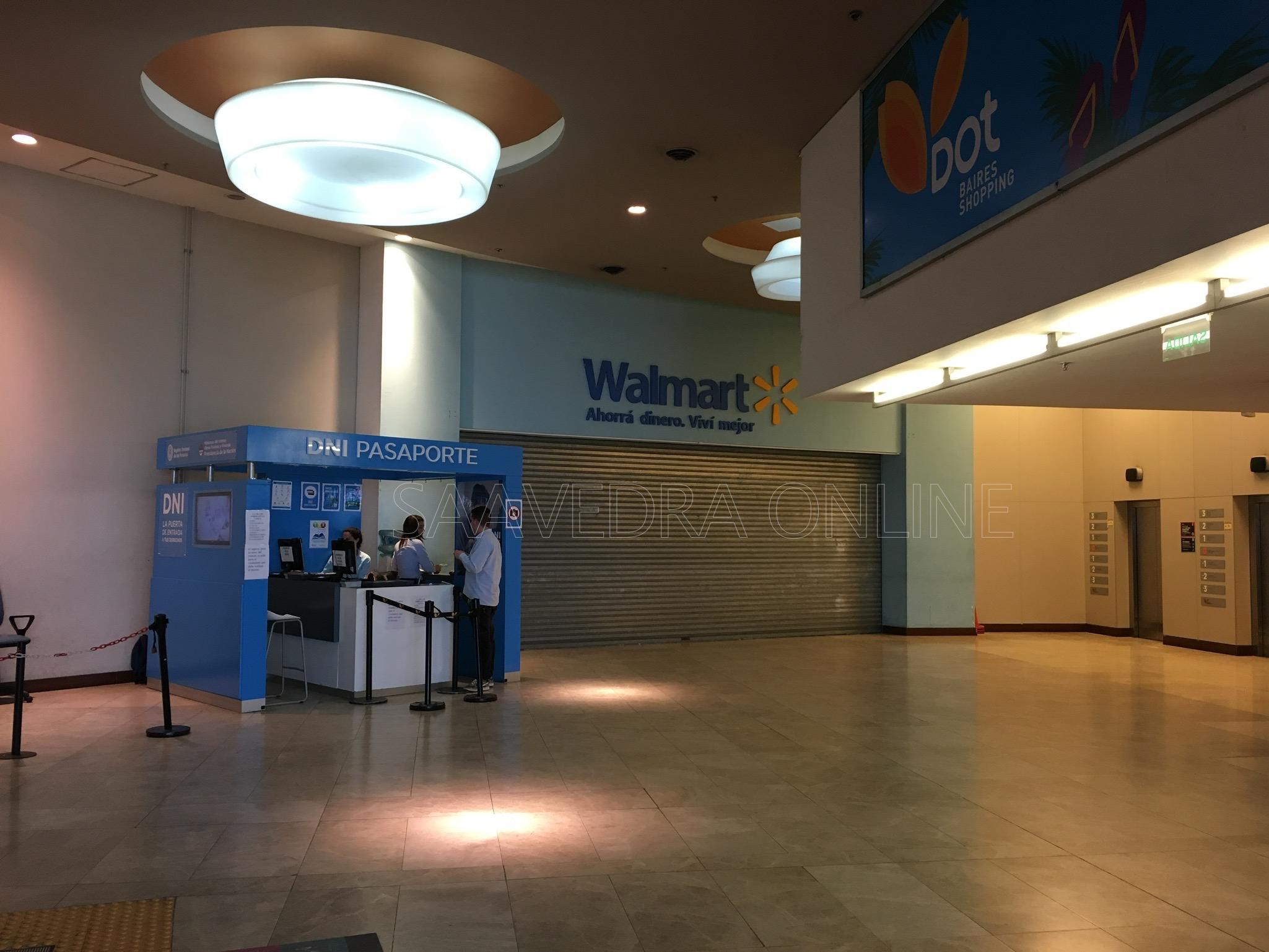 Walmart cierra su local en el DOT Baires Shopping de Saavedra y ...
