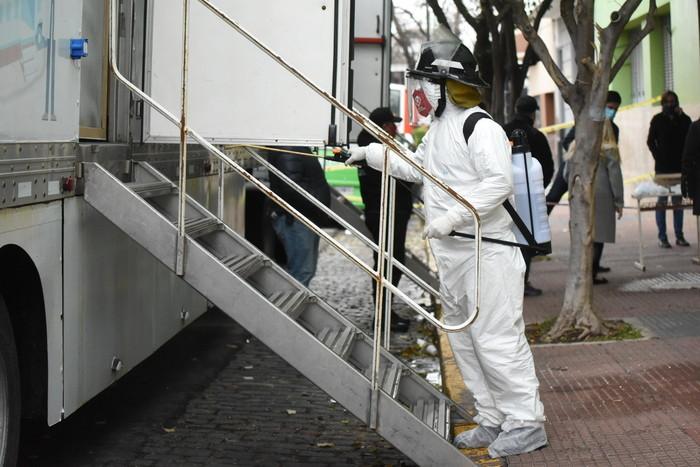 Coronavirus en Saavedra: 4.617 contagios y 92 muertes desde el inicio de la pandemia